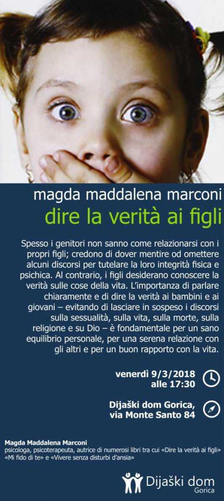 Magda Maddalena Marconi_dire la verita ai figli